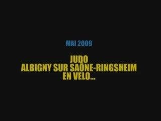 Le judo à Ringsheim...en vélos !!!