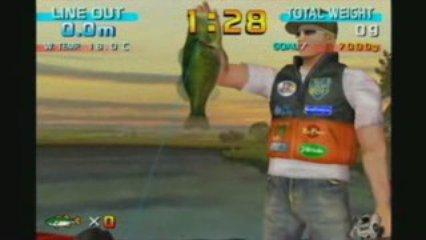 Sega Bass Fishing, Critique Cruelle.