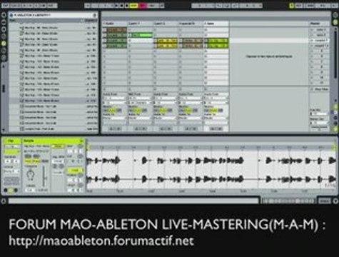 Tuto MAO : Ableton Live Formation d'un Morceau (Debutants)