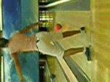 Laetitia et moi au bowling