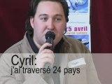 Cyril : mes voyages sur deux continents