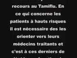 Tamiflu, effets secondaires