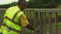 L'homme en jaune des autoroutes (Vendée)