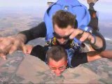 Ludo: saut en parachute à Nancy - Azelot...même pas peur !!!