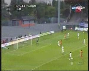 Laval - Strasbourg, but de do Marcolino (1-0)