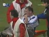 Lyon - Bruges (3-0) ; 16ème de finale Coupe UEFA 2001/2002