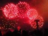 bouquet final feu d'artifice du 15 2009 aout plage de royan