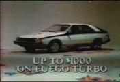 Pub americaine gamme Renault 1983