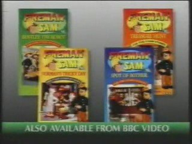 Start of The New Adventures of Fireman Sam VHS (1994)   Godialy.com
