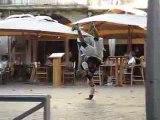 Danse dans la rue à Malaucène
