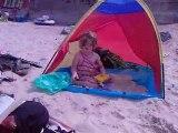 Dans la tente