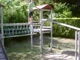 cascades en folies de joey du 49 ( hauteur : 3m45 )