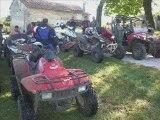 Mes quads + sortie en quad