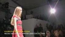 Nicole Miller Fall Winter 2009 Fashion Show by Karen Kooper