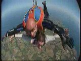 ludi saut en chute libre Belle ile en mer 15 Aout 2009