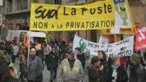 """Solidaires """"Contre la privatisation de la Poste"""" [Expression Directe- Solidaires]"""