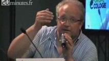 Eric Loiselet (PS) aux journées d'été des Verts