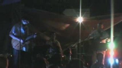 """Ile aux Moines-Concert """"The Groupe"""" vidéo n°2 14-08-2009"""