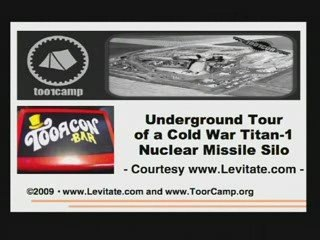 + ToorCamp2009 - Narrated Tour of a Titan-1 Missile Silo +
