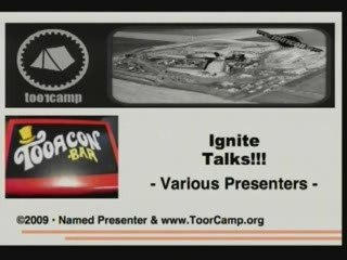 IGNITE ToorCamp!!! Ignite Talks in a Titan-1 Missile Silo!!!