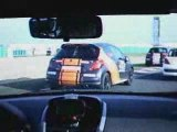 Rencontres Peugeot Sport 2009 - Depart Magny Cours 207