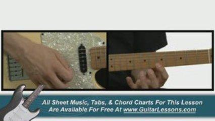 Rock Guitar Licks and Riffs – Guitar Lessons