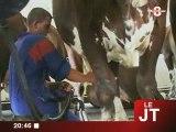 Jean-Jack Queyranne et la crise laitière