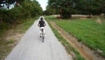 voie verte ,piste cyclable à Teillay aout 2009