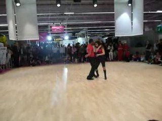 2009 Improvisation Bachata dominican style form'expo - Jean-Claude Occo & Vaïni