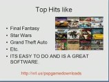 Download PSP Games- How to Download PSP Games From PC ...