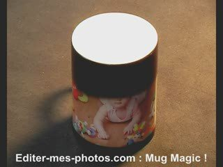Créer un Mug Magic ! avec Editer-mes-photos.com – Edition
