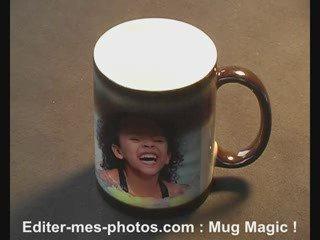 Mug personnalisé : cadeau noel, mariage, naissance, baptème