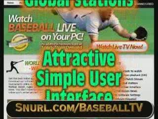 Catch Live Baseball Games Online