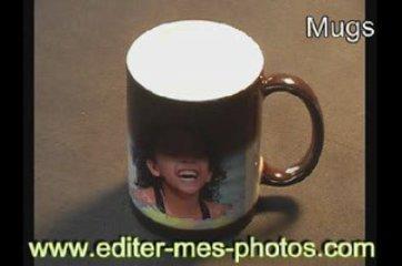 Cadeau Mugs imprimés avec votre photo: Editer-mes-photos.com