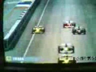 Formula One 2003 ps2 Firman crash