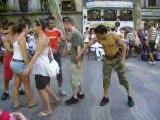 barcelone ramblas - Jump à la Meska