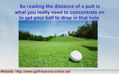 Putting Tips To Improve Your Golf Game