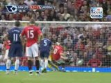 Manchester United  2-1 Arsenal -Goals&Highlights - 8 29 2009
