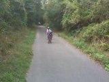 Christella & Fabienne en vélo dans la Forêt de Saint-Germain