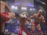 Edge & Hollywwood Hulk Hogan vs Billy & Chuck 04.07.2002