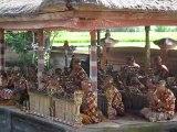 Orchestre lors d'un spectacle de danses traditionnelles à Ba