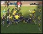 CA Brive-ASM : résumé du match (28/08/09)