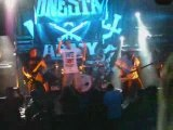 """Onesta """"Keep your hands off"""" live in Paris - 14/08/2009."""