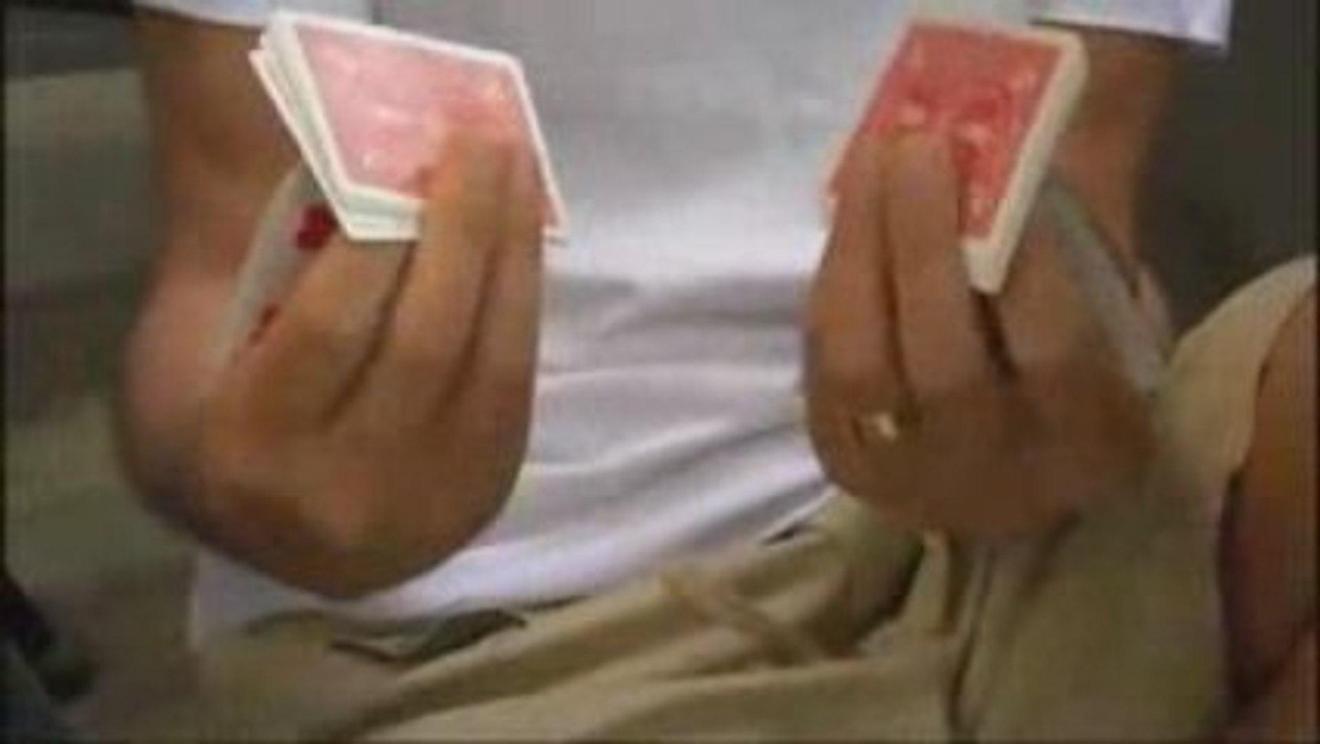 Zidane joueur de carte