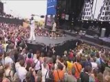 "P.O. feat G-MONI Live Francofolies 2009 - ""Le Son du Ghetto"""
