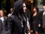 Tokio Hotel sortant de leur hôtel, Paris 3.09.09
