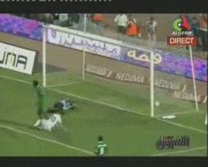 ALGERIE 1 ZAMBIE 0, le But Saifi 55 min. 06 09 2009