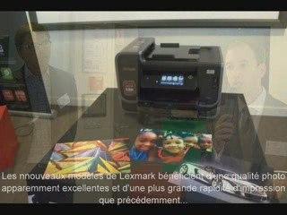 Présentation gamme Lexmark multifonctions jet d'encre