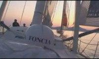 Team FONCIA - Images du bord : Foncia bord à bord avec 1876
