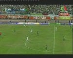ALGERIE 1 ZAMBIE 0, 1/4 d'heure de pur football 06 09 2009